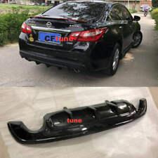 Matt Black For Nissan Altima 2016-2018 Rear Bumper Diffuser Valance Lip