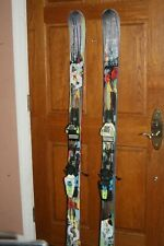 SCOTT 85 168cm Twin Tip SKIS with MARKER Adjustable Bindings