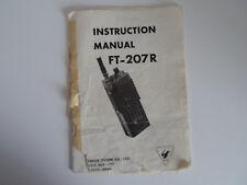 Yaesu FT-207R (Original Manual De Instrucciones Solamente)... radio _ trader _ Irlanda.