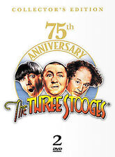 The Three Stooges 75th Anniversary Edition (DVD, 2002, 2-Disc Set, Two-Disc Set)