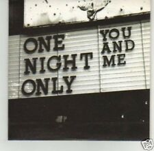 (I544) You And Me, One Night Only - DJ CD
