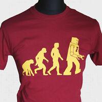 Robot Evolution T Shirt The Big Bang Theory Leonard Sheldon Cooper Vintage Cool