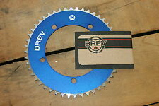 Brev. M Masi Fixie Fixed Gear Chain Ring Sprocket Chainring 44t Blue 130 BCD 1/8