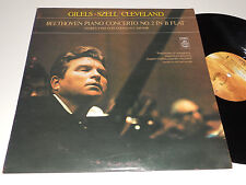 Beethoven GILELS SZELL CLEVELAND NM- Concerto no. 2 in B Flat Angel S-36028