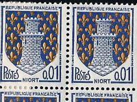 VARIETE  N°:1351A (papier mince+ legende superieure surmontée de pointillés )-