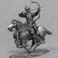 Rider Miniature Medieval Gallop Bowman 1/32 Knight Mounted Soldiers Cavalryman