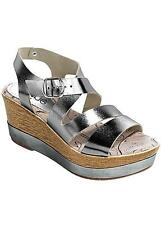 Silver wedge  schuhe   wedge   5a406d