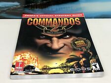 Commandos 2, Men Of Courage. Prima Official Strategy Guide, Pre-Owned.