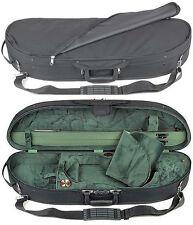Bobelock 1047 Half Moon 3/4 Violin Case with Green Velour Interior - AUTHORIZED!