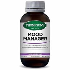 Thompson's Mood Manager 60 Capsules Thompsons Same Tyrosine Helps The Blues
