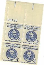 4 Champion of liberty 4 cent United States postage stamps