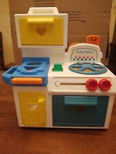 Vintage 1990 Fisher Price Toddler Kitchen Stove #1035