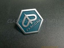 Vespa P PX ET2 ET4 nose horn cast emblem badge decal logo V8220