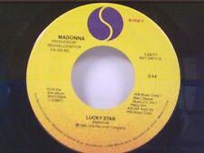 """MADONNA """"LUCKY STAR / I KNOW IT"""" 45 NEAR MINT"""