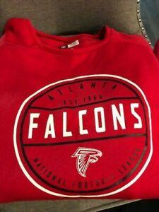 ATLANTA FALCONS SWEATSHIRT  NFL RED  Med