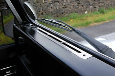 Land Rover Defender Stainless Steel Dash Vents