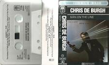 L MC CASSETTA Chris de Burgh si on the line, High on Emotion, The Sound of a Gun