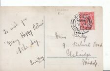 Family History Postcard - Bailey - Belmont Rd Uxbridge - Middlesex - Ref 1784A