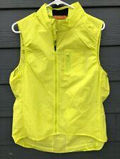 EUC Rapha Gilet II Yellow XXL Men's Cycling Vest Packable