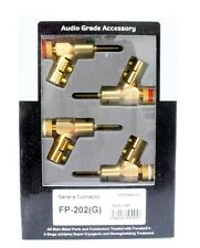 Genuine FURUTECH banana speaker plug connector gold plated FP-202(G) one set