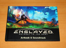 Enslaved Odyssey to the West Rare Promo Artbook & Soundtrack Cd PS3 Xbox 360