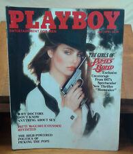 Playboy Magazine July 1979 Girls of James Bond Dorothy Mays Centerfold VTG
