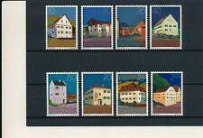 Liechtenstein   638/49  MNH,  Houses, 1978