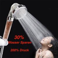 Handbrause Druck Wasserspar Duschkopf Lonic Filtration Duschbrause