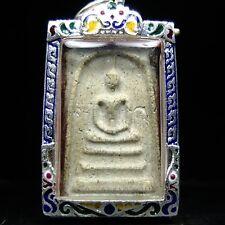 Rare Phra Somdej Toh Wat Rakhang Buddha ,Phim Yai ,Real Silver casing.
