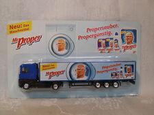 Mr. Proper Das Waschmittel Werbe Truck Renault Magnum SZ 2004 OVP Kofferaufbau