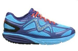 MBT Men's Simba 3 Rocker Bottom Running jogging Shoe US 11 Royal Blue/Navy EXC