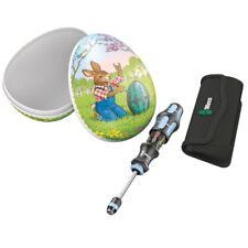 Wera Osterei KK20 Hase Kombi-Schrauber mit 6 Bits 05134210001 Ostern bunt Ei
