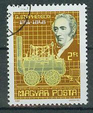 Briefmarken Ungarn 1981 Stephenson Mi.Nr.3502