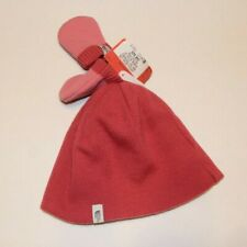 The North Face ~ Pink Baby Boo Reversible /Beanie Mitten Set ~ Infant One Size