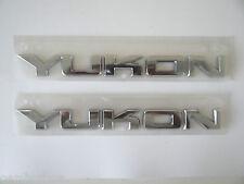 LOT OF 2 GMC Yukon 2007-2015 Liftgate Tailgate Door Emblem Chrome 15825690 NEW