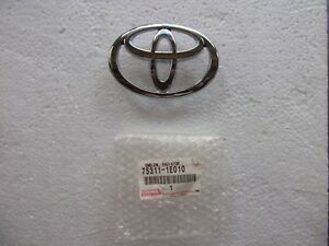 TOYOTA RAV 4, ALA2; COROLLA AE 111 EMBLEM RADIATOR GRILLE FRONT (GENUINE)(NOS)a