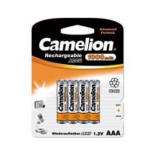8 Accus Piles rechargeables AAA/LR3 1000mAh CAMELION