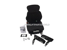 GRAMMER CLOTH FORKLIFT SEAT WITH ARMREST & SWITCH