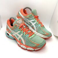 Asics Gel Flux Womens Athletic Training Running Shoes T3D9N Size 8.5 blue Speva