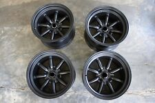 For Miata Mx5 Na Nb Roadster E30 Jdm 15 Retro Rs Banana Style Wheels Rims