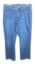 Lee Platinum Label Size 18 Short Jeans Naturally Slimming Straight Denim Stretch