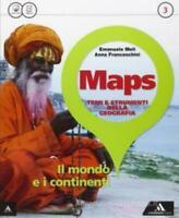 Maps vol.3 A.Mondadori Scuola, Meli/Franceschini codice:9788824750325