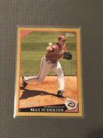 2009 Topps #224 Max Scherzer Gold /2009 Diamondbacks