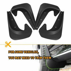 4PCS Universal Car Mud Flaps Splash Guards for Front or Rear Auto Accessories