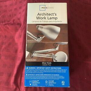 "Mainstays' Architect's Work Lamp 22.5"" New in Box (NIB)"