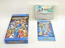 ROCKMAN 7 Megaman Item ref/bcc Super Famicom Capcom Nintendo Japan Game sf