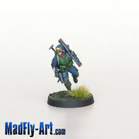 Zouaves DEP PRO5 Infinity painted MadFly-Art