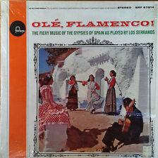 LOS SERRANOS - OLE, FLAMENCO / MUSIC OF GYPSIES.- FONTANA - 1963 LP -SHRINK WRAP