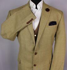 Ralph Lauren Blazer Jacket Brown Wool & Silk 46L SUPERB GARMENT 2901