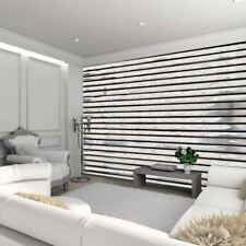 1 mur panneau en bois poutres murale distressed blanc réaliste wall art 3.15 x 2.32m